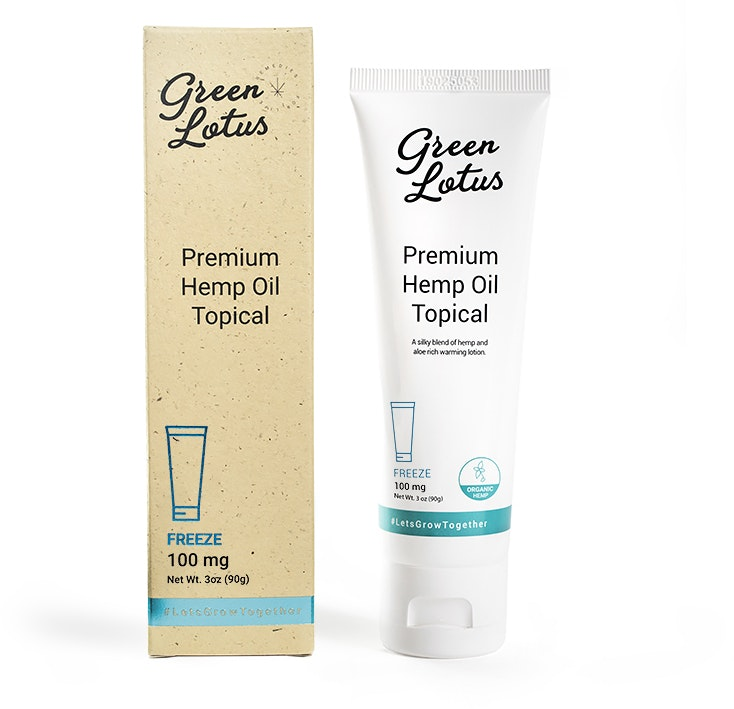 CBD Topical Lotion - Freeze Topicals Cream