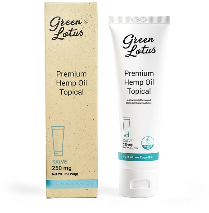 CBD Topical Lotion - Salve Topicals Cream