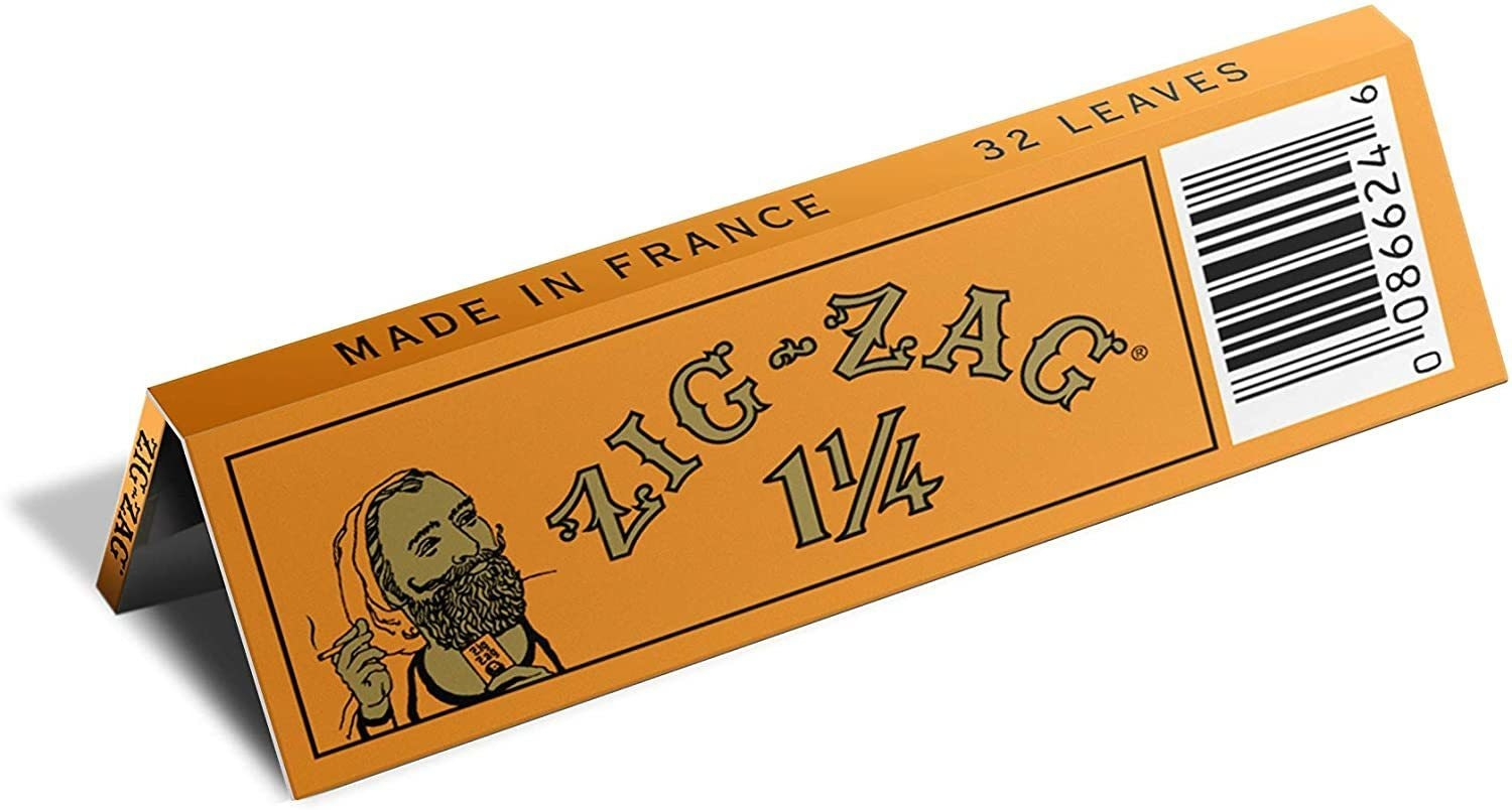 1 1/4 Orange Rolling Papers Accessories Rolling Paper